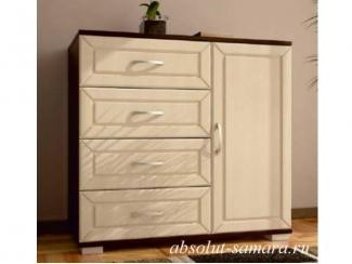 Комод 4 ящика с дверцей - Мебельная фабрика «Абсолют»