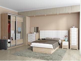 Светлая спальня Композиция 16 - Мебельная фабрика «SON&C»