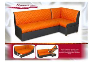 Оранжевый кухонный уголок Весна - Мебельная фабрика «Мебель Волга»