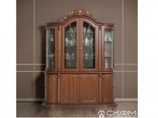 Буфет Динара темный - Мебельная фабрика «Северо-Кавказская фабрика мебели»