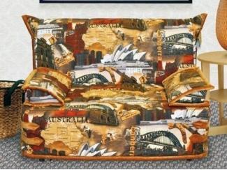 Яркий мини-диван Алекс - Мебельная фабрика «Данила Мастер»