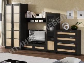 Гостиная со шкафом и комодом Композиция 6 - Мебельная фабрика «Континент-мебель»