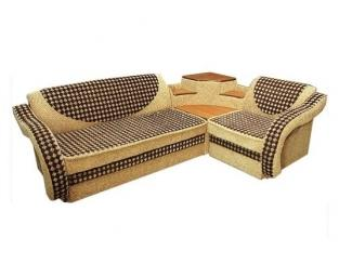 Угловой диван с полками - Мебельная фабрика «Стандарт мебель»