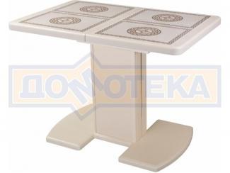 Стол с плиткой Шарди ПР с центральной ножкой 05 - Мебельная фабрика «Домотека»