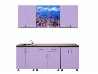 Кухня прямая Цветущая сакура - Мебельная фабрика «Мебелин», г. Майкоп