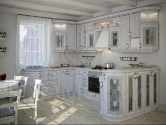 Кухня Снежная королева массив - Мебельная фабрика «Гармония мебель»