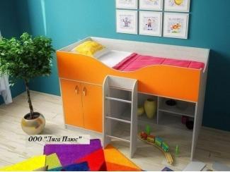Детская Кровать-чердак ЛДСП - Мебельная фабрика «Лига Плюс»