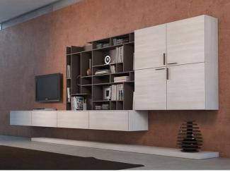 Гостиная стенка 034 - Мебельная фабрика «Mr.Doors»