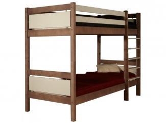 Удобная двухъярусная кровать Брамминг - Мебельная фабрика «Timberica»