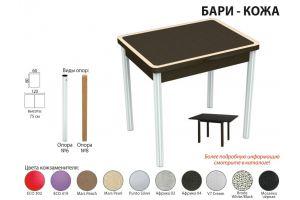 Стол обеденный Бари кожа - Мебельная фабрика «Аврора»