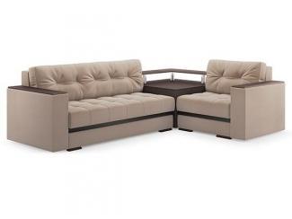 Угловой диван со столом Серджио  - Мебельная фабрика «Лагуна»