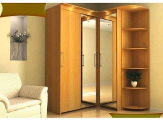 Угловой шкаф с зеркалом и подсветкой - Мебельная фабрика «SEDAK-Мебель»