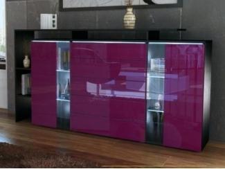 Фиолетовый комод Элит - Мебельная фабрика «Комфорт»