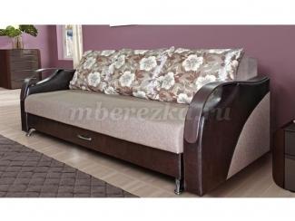 Прямой диван Леон Люкс - Мебельная фабрика «Березка»
