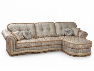 Угловой диван Мадлен   оттоманка  - Мебельная фабрика «ALVI SALOTTI»