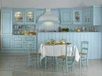 Кухонный гарнитур Селеста голубая - Мебельная фабрика «Атлас-Люкс»