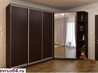 Угловой шкаф-купе  - Мебельная фабрика «Еврус»