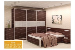Спальный гарнитур 2 - Мебельная фабрика «МФА»