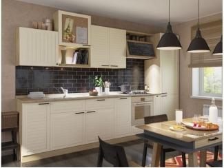 Бежевый кухонный гарнитур Страйп - Изготовление мебели на заказ «Кухни ЧУ»