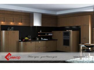 Кухня Этну шпон - Мебельная фабрика «Симкор»