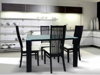 Обеденная зона в современном интерьере кухни - Изготовление мебели на заказ «ЭкоМассив»