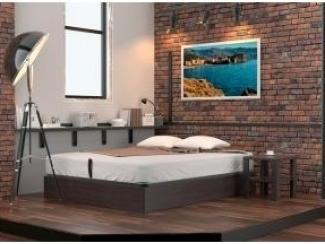 Кровать-основание с подъемным механизмом и ящиком для белья - Мебельная фабрика «Дримлайн»