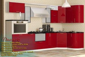 Угловая кухня Диана 6 - Мебельная фабрика «Рамзес», г. Ульяновск