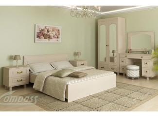 Спальный гарнитур ЭЛИЗАБЕТ №2 - Мебельная фабрика «Компасс»