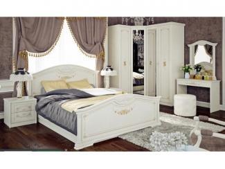 Светлая спальня Лючия 2 - Мебельная фабрика «ТриЯ»