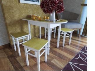 Стол полуовал 1 - Мебельная фабрика «Орнамент»