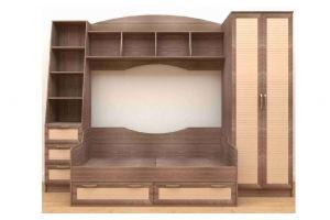 Детская стенка Радуга - Мебельная фабрика «Алтай-мебель»