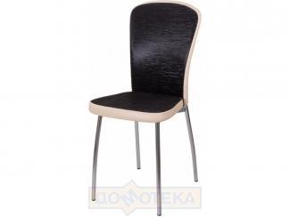 Кухонный стул Палермо на металлокаркасе с мягкой спинкой - Мебельная фабрика «Домотека»