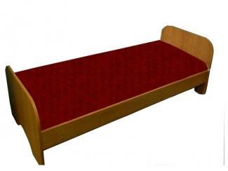 Кровать односпальная из ламинированной ДСтП