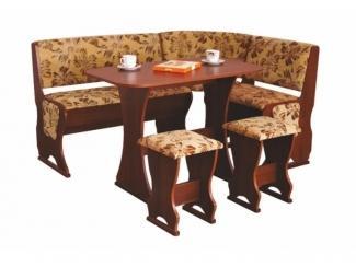 Кухонный уголок со столом Барин – 3  - Мебельная фабрика «Мебельград»