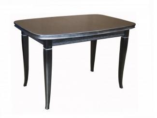 Стол обеденный из массива Малахит 1 - Мебельная фабрика «Салем-Мебель»