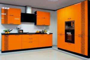 Кухня Афродита Апельсиновый фреш - Мебельная фабрика «Мебель Черноземья»