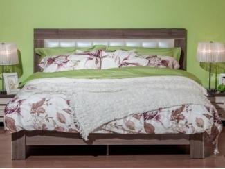 Элегантная двухспальная кровать Мартель 2 Шамони  - Мебельная фабрика «Мебель Черноземья»