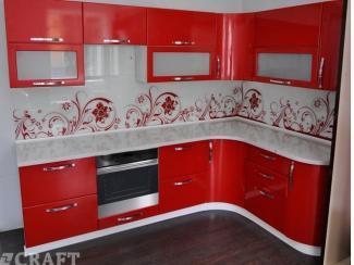 Кухня угловая Багряна - Мебельная фабрика «Крафт»