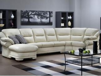 Эргономичный кожаный диван Абсолют - Мебельная фабрика «Котка»