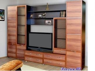 Гостиная в стиле  минимализм Элегия 3 - Мебельная фабрика «С-Корпус»