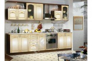 Кухня прямая Сильвия - Мебельная фабрика «Мега Сити-Р»