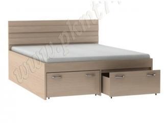 Двухспальная кровать с ящиками  - Мебельная фабрика «Мебельные технологии»