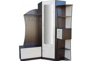 Прихожая угловая Спутник 3 - Мебельная фабрика «Мебельный Арсенал»