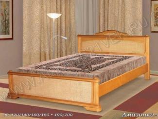 Кровать из дерева Амазонка 2 - Мебельная фабрика «Альянс 21 век»