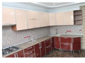 Кухня пластик в алюминии - Мебельная фабрика «Лана», г. Невинномысск