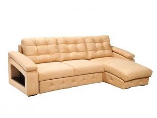 Угловой диван  с оттоманкой Stellato