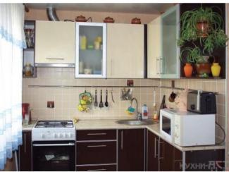 Кухонный гарнитур угловой Ваниль