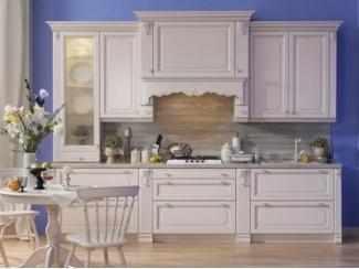 Белая кухня с окном Белла - Мебельная фабрика «Экомебель», г. Москва