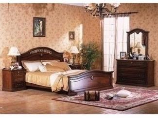 Кровать из мдф  MK-1752-DN
