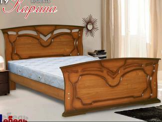 Кровать «Карина М-19» - Мебельная фабрика «Мебель Прогресс»